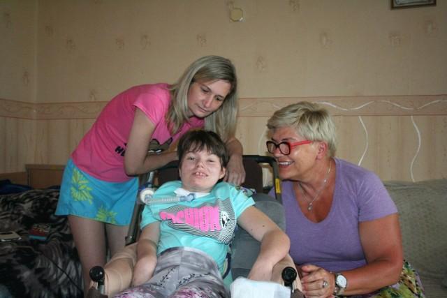 Kinga Ibek z mamą i dr Joanna Kowalczyk
