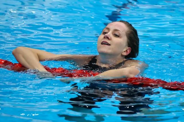 Katarzyna Wasick w olimpijskim finale 50 m kraulem