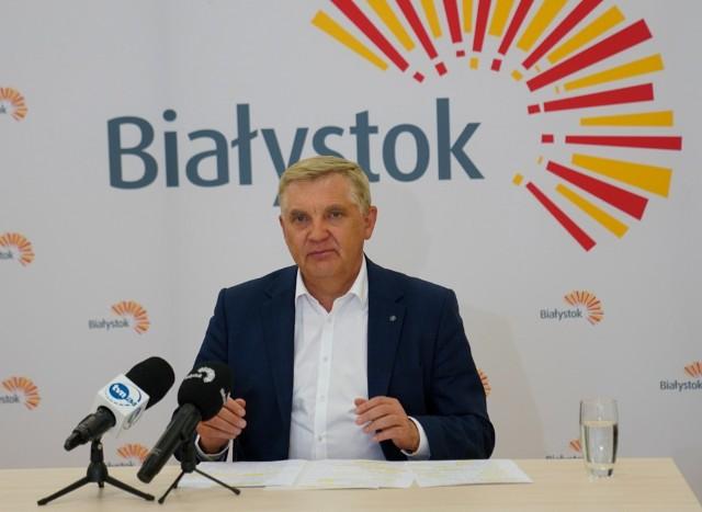 Prezydent Tadeusz Truskolaski skrytykował radnych miejskich PiS za ich konferencję prasową w sprawie Krajowego Planu Odbudowy