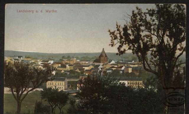 Tak kiedyś prezentował się Gorzów - wtedy Landsberg. Niezwykłe widokówki sprzed lat