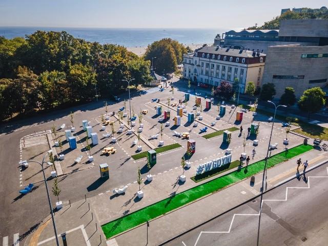 Parking przy Muzeum Miasta Gdyni na dłużej pozostanie placem dla mieszkańców