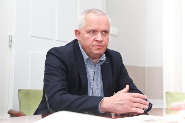 Dariusz Stasiak, radny Bezpartyjnych Samorządowców.