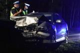 Wypadek w Krzyżowicach pod Wrocławiem. Jedna osoba nie żyje
