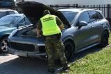 Porsche o wartości 270 tys. zł zatrzymane przez straż graniczną w Dorohusku. Auto zostało skradzione w Andorze