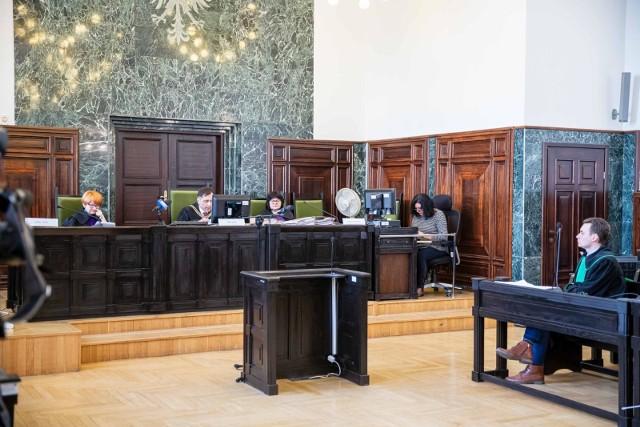 Rozprawa odwoławcza odbyła się mimo nieobecności oskarżonego Jacoba K. Ten przebywa aktualnie w areszcie śledczym na warszawskim Służewcu.