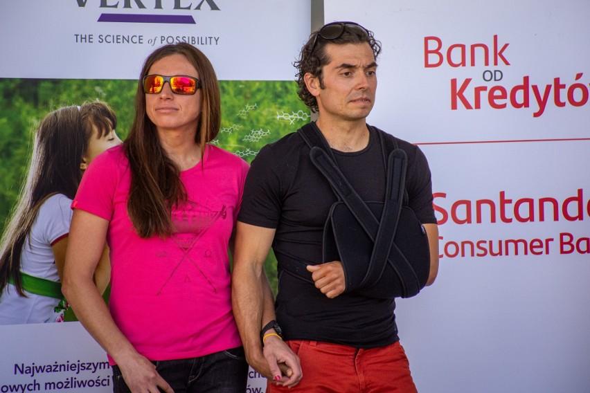 Justyna Kowalczyk i Kacper Tekieli