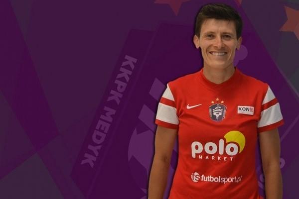Anna Gawrońska zdobyła pięć goli dla Medyka