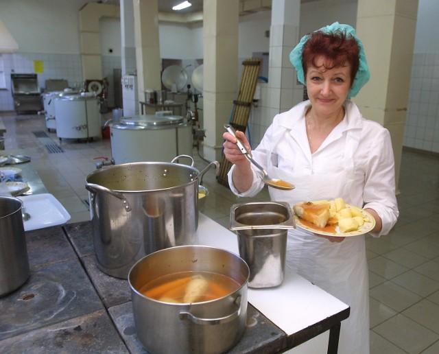 - Staramy się dostosowywać nasze menu do indywidualnych potrzeb pacjentów będących na dietach - mówi Kucharz Jadwiga Juszczyk z firmy Gastropol, która obsługuje Szpital Kliniczny nr 2 w Szczecinie