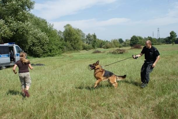 Film będzie pokazywany w szkołach, jako pomoc w nauce obrony przed atakiem psa
