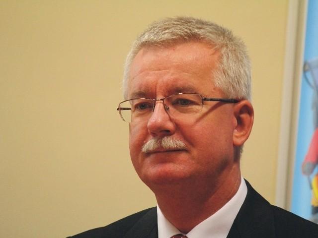 Konsule Generalny RP we Lwowie Jarosław Drozd, razem z przedstawicielami polskich organizacji na Ukrainie, gościł wczoraj w Przemyślu.