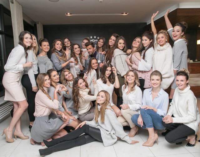 Finalistki konkursu Miss Polski 2017