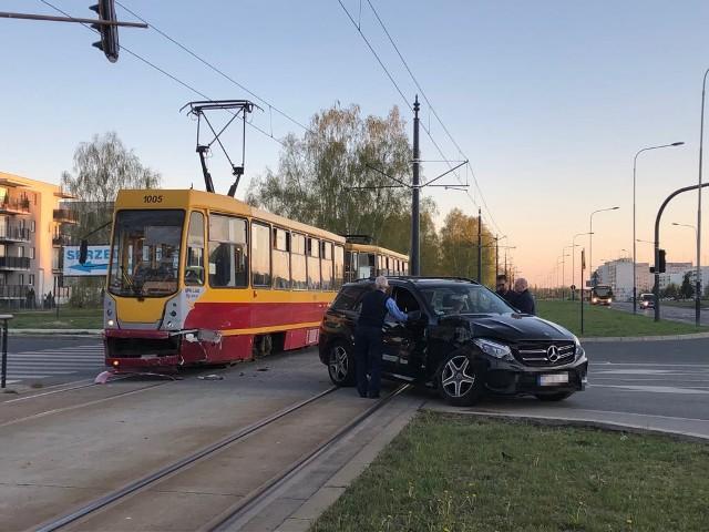 Wypadek tramwaju w Łodzi, zderzenie tramwaju na Hetmańskiej