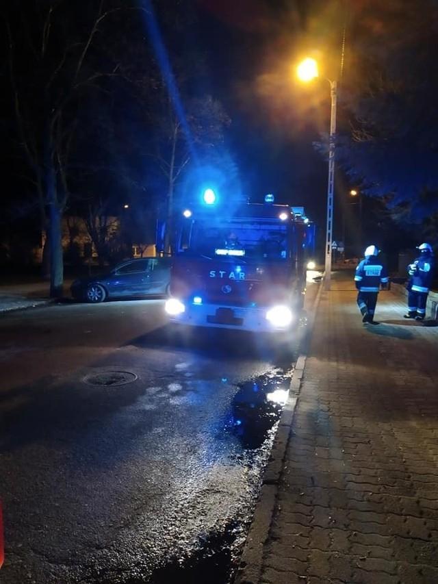 W gaszeniu pożaru udział brały dwa zastępy JRG Gostyń i jeden zastęp OSP Gola.