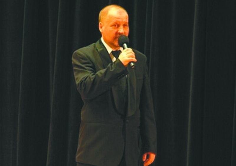 Edward Szabat wyraził chęć dalszej pracy jako dyrektor Miejskiego Domu Kultury Fot. MDK