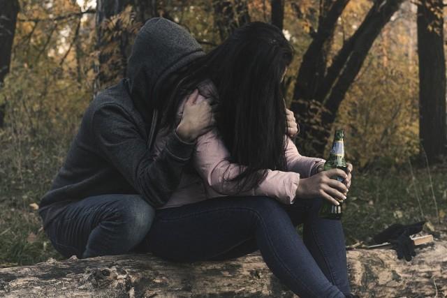 pijana mtka miała opiekować się 20-miesięczną córką