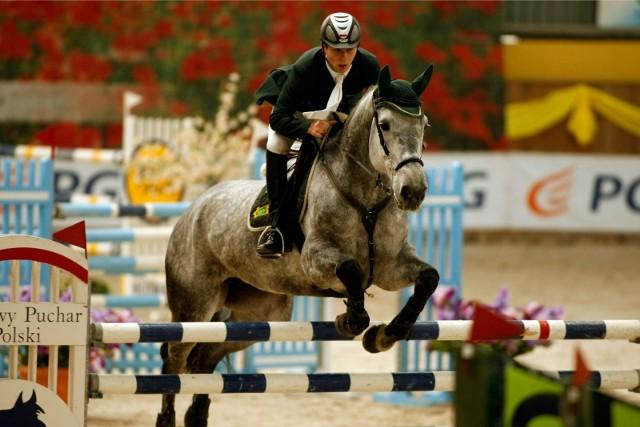 Mściwoj Kiecoń już od 20 lat uprawia jeździectwo i jest jednym z najbardziej utytułowanych polskich zawodników w skokach przez przeszkody