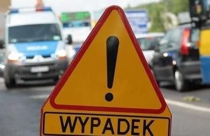 Wypadek na skrzyżowaniu Gwarnej i Dąbskiej w Szczecinie