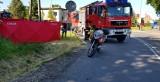 Śmiertelne potrącenie rowerzystki w Dłutowie. Mimo reanimacji kobieta zmarła