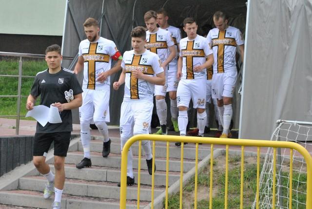 W ostatnim meczu w tym sezonie ŁKS Probudex Łagów przegrał z Wólczanką Wółka Pełkińska 1:3.