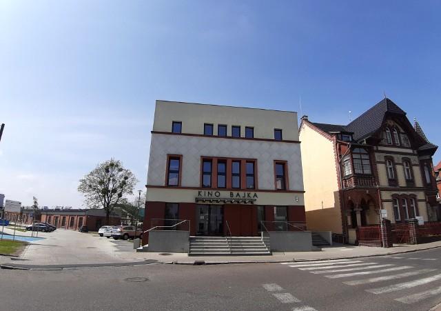 Teren dawnej Fampry w Kluczborku po rewitalizacji.