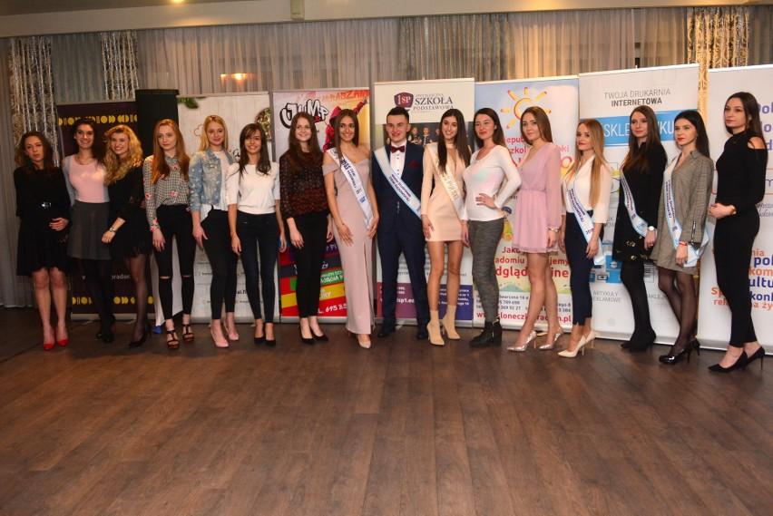 Casting do Miss Ziemi Radomskiej 2018. Tak prezentowały się...
