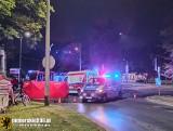 Śmiertelny wypadek na Trakcie Konnym w Gdańsku. W środę, 16.09.2020 r. zginął ok. 30-letni rowerzysta
