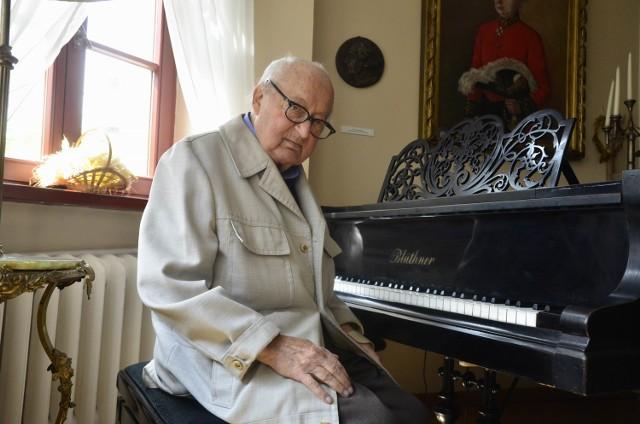 """Jan Nowowiejski, najmłodszy syn Feliksa Nowowiejskiego, jest strażnikiem pamięci o kompozytorze """"Roty"""""""