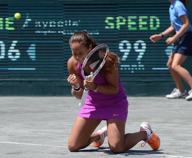 Daria Kasatkina, tenisowa gwiazda reprezentacji Rosji.