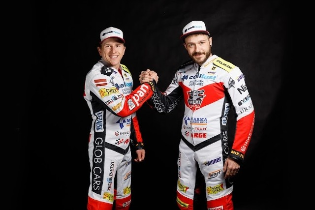Andrzej Lebiediew i Vaclav Milik - koledzy z Cellfast Wilków w sobotę pojadą każdy dla siebie