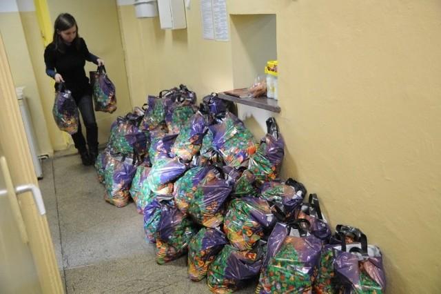 PCK przygotował 1200 paczek.