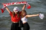 Kibice w Gdańsku wspierali reprezentację Polski w strefie kibica w Brzeźnie. Musieli przełknąć odpadnięcie z turnieju [zdjęcia]