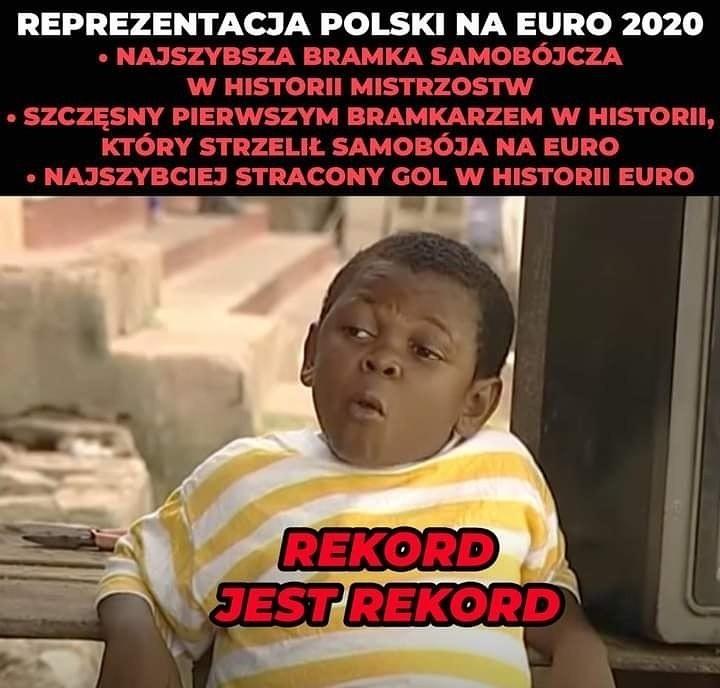 Euro 2020. MEMY po meczu Polska - Szwecja: koniec...