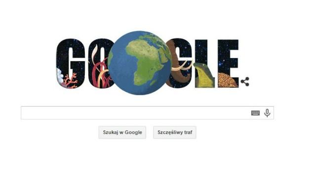 W środę Dzień Ziemi. Zobacz Google Doodle!