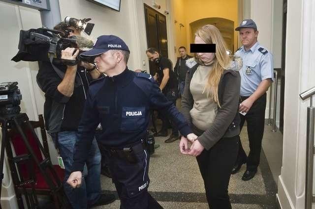 22-letnia Natalia S. w drodze na salę rozpraw bydgoskiego sądu