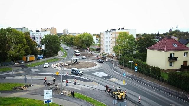 Miejsca parkingowe mają powstać po prawej stronie ul. Chabrów.