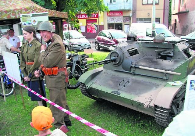 Polski lekki czołg rozpoznawczy (tankietka) TKS BR-TZIP produkowany w fabryce Ursusa. Obok czołgu 7TP był podstawową bronią polskich sił pancernych podczas kampanii wrześniowej 1939 roku.