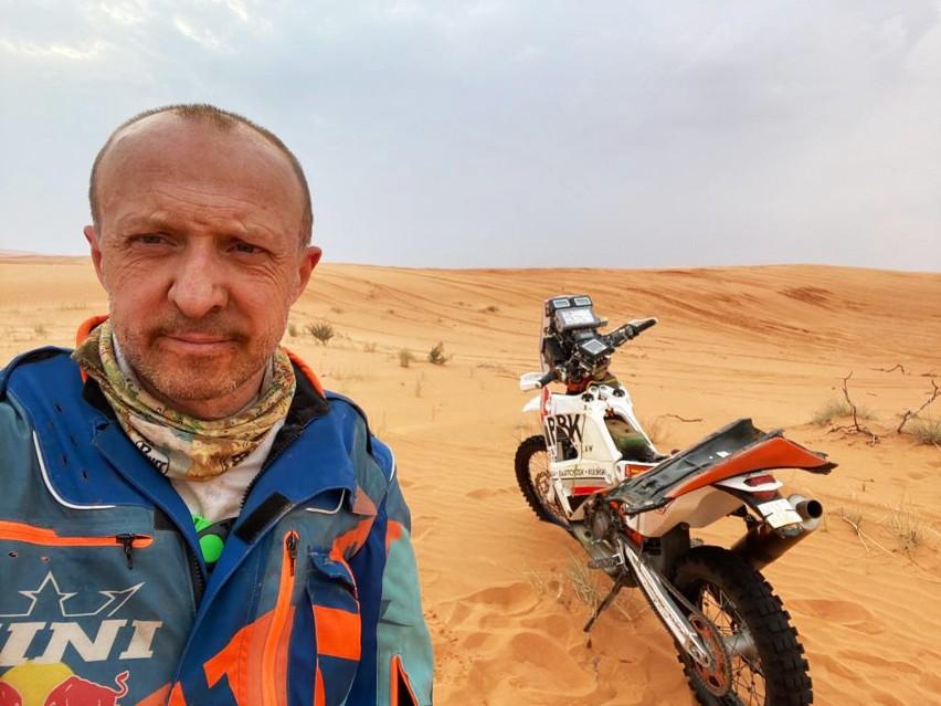 """Jeden Polak nie ukończył etapu w Rajdzie Dakar. """"Motor padł,..."""