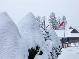 Zakopane. Zima atakuje coraz bardziej. Spadło już kilkanaście centymetrów śniegu