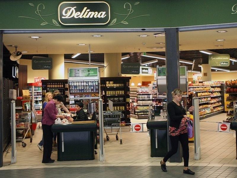 Na razie jeszcze można robić zakupy w słupskiej Delimie.