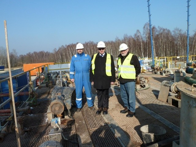 Wójt Kęsowa spotkała się z firmą poszukującą gazu na w gminie.