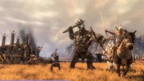 Screen z gry Władca Pierścieni Podbój.