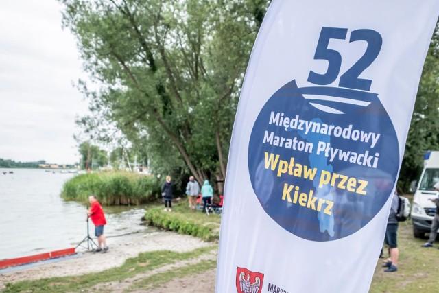 """Start i meta """"Wpław przez Kiekrz"""" po raz drugi usytuowana będzie przy Plaży Parkowej w Kiekrzu."""