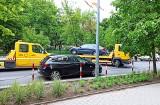 Białystok. Straż miejska usuwa auta z ulic wyłączonych z ruchu na weekend. Chodzi o wyścig kolarski