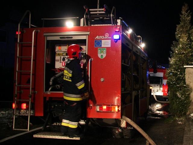 Nad ranem na dachu elektrociepłowni, należącej do firmy Arctic Paper, zapaliły się filtry turbiny gazowej.