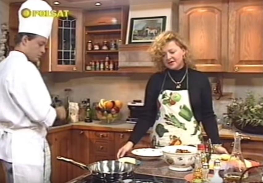 """Tak wyglądała Magda Gessler w programie """"Smakosze i..."""