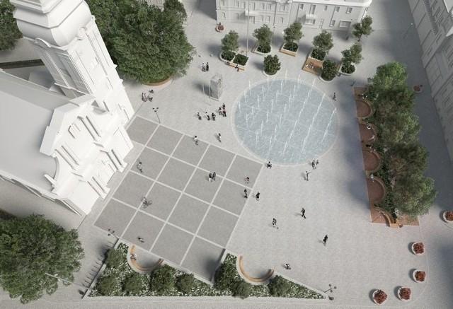 Na Rynku wybudowana zostanie fontanna, natomiast nabrzeże Wisły stanie się miejscem rekreacji i wypoczynku.