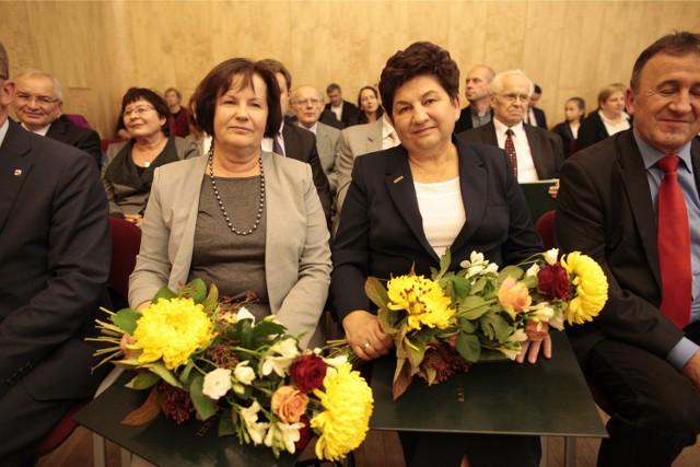 Urszula Zajączkowska i prof. Danuta Kisielewicz.