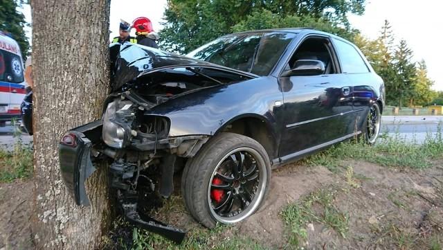 We wtorek, przed godz. 20, na ulicy Białostockiej w Wasilkowie doszło do wypadku.