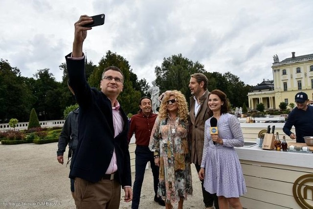 MasterChef w Białymstoku przed Pałacem Branickich kosztował miasto 61 tys. zł.