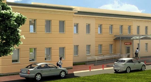 Tak będzie wyglądał po przeprowadzeniu gruntownego remontu. budynek przy ul. Skłodowskiej.